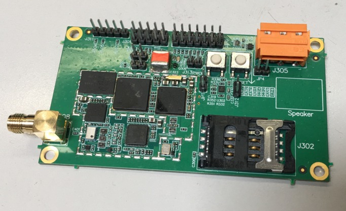 Picture of FCDEV3B board
